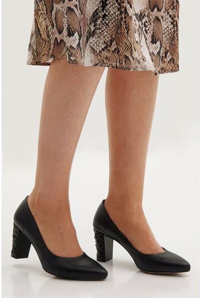 Marjin Kadın Kedya Topuklu Ayakkabı