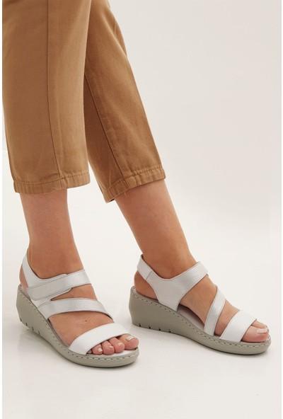 Marjin Kadın Mara Dolgu Sandalet