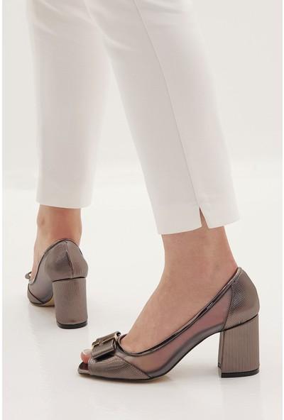Marjin Kadın Sindu Topuklu Abiye Ayakkabı