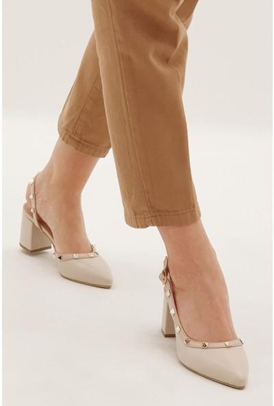 Marjin Kadın Tires Topuklu Ayakkabı