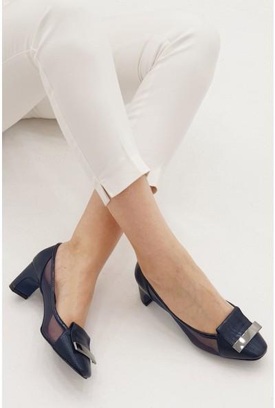 Marjin Kadın Yanvez Topuklu Ayakkabı
