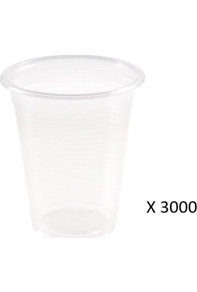 Tuğra Plastik Bardak 180 cc 3000'li