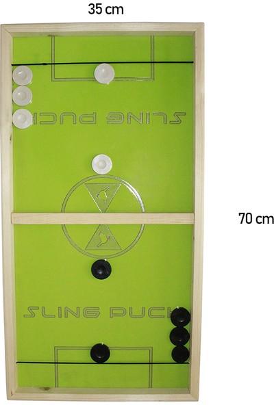 N Mobilya Slingpuck Oyunu Ekonomik Model Hızlı Sapan Sling Puck Oyunu