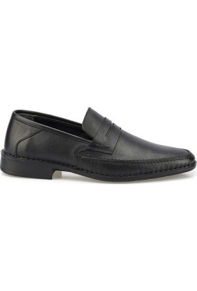 Polaris 5 Nokta 102029.M Siyah Erkek Comfort Ayakkabı