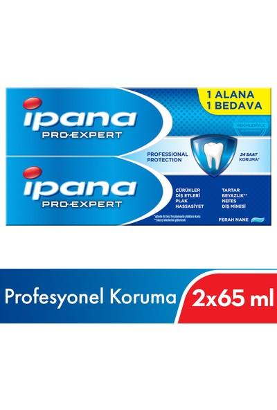 Ipana Pro-Expert Profesyonel Koruma Diş Macunu (65 ml + 65 ml) 1 + 1