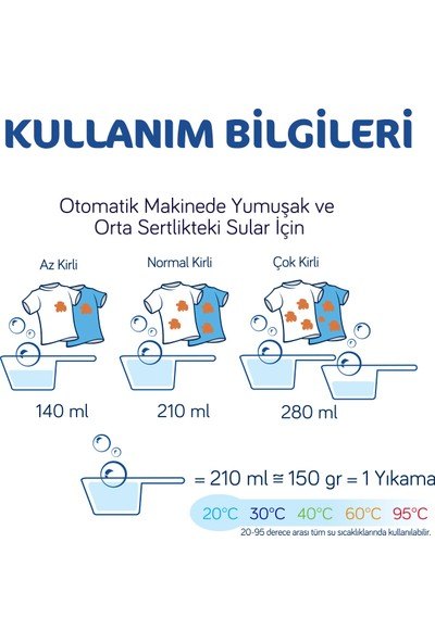 Bingo Oksijen Hipoalerjenik Toz Çamaşır Deterjanı 5 Kg