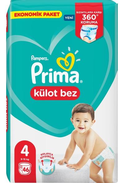 Prima Külot Bebek Bezi Ekonomik Paket 4 Beden 46'li