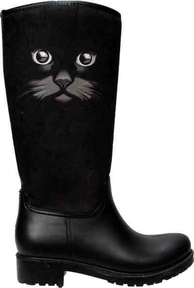 Yaz Kış Ayakkabı Kadın Su Geçirmez Yağmur Çizmesi 39