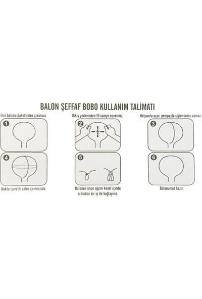 Acar Süs Çok Amaçlı Şeffaf Balon Bobo 36 Inch
