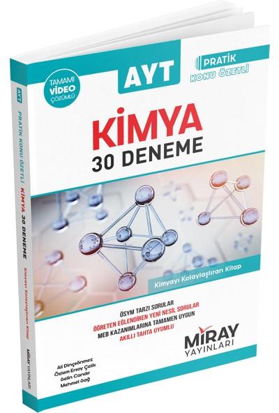 Miray Yayınları AYT Kimya 30 Denemesi