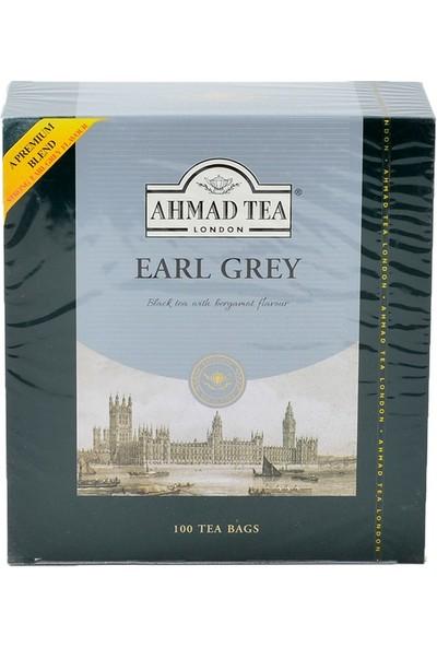 Ahmad Tea Earl Grey Tea Bags 100'LÜ Bardak Poşet Çay