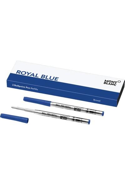 Mont Blanc 124491 2 Ballpoint Kalem Ucu B Royal Blue