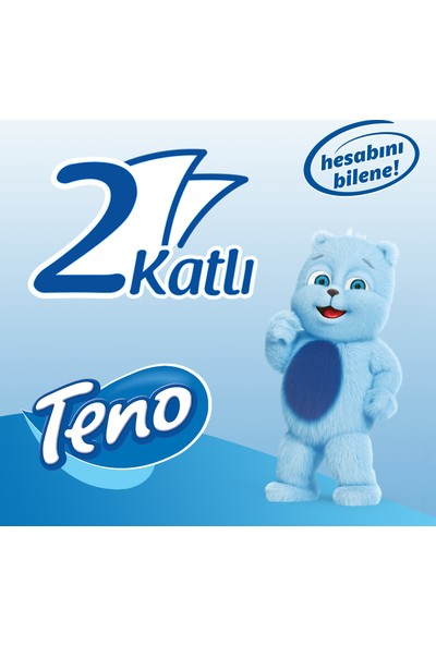Teno Ultra Tuvalet Kağıdı Jumbo Paket 96 Rulo