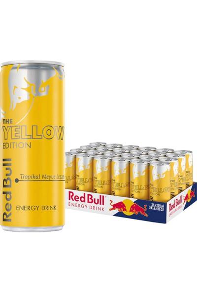 Red Bull Yellow Enerji Içeceği 250 ml 24 Adet
