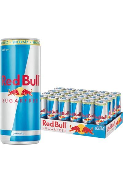 Red Bull Şekersiz Enerji Içeceği 250 ml 24 Adet