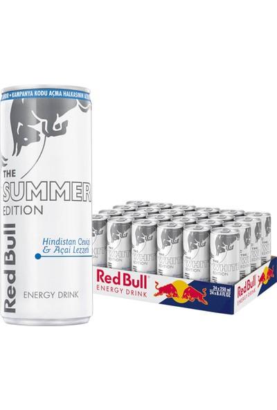 Red Bull Enerji Içeceği White Edition 250 ml 24 Adet