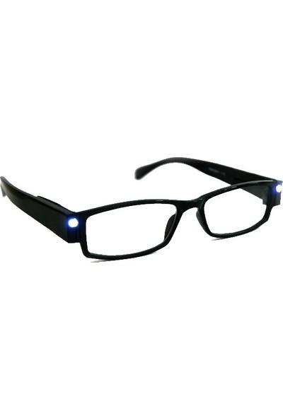 Serel LED Gözlük Tasarımlı Kitap Okuma Lambası Camsız