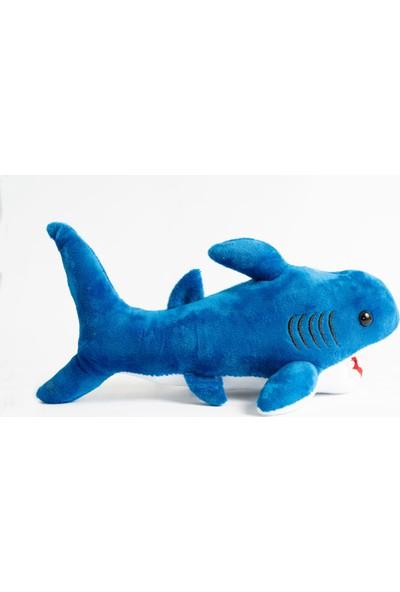 Siyah Kedi Baby Shark Köpek Balığı Peluş Oyuncak 30 cm
