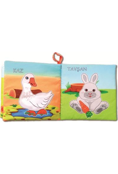 Tox Evcil Hayvanlar Sessiz Kumaş Kitap - Bez Kitap