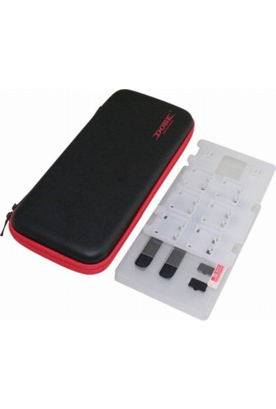 Ovio Nintendo Switch Çanta ve Aksesuar Seti Cam Ekran Koruyucu TNS874