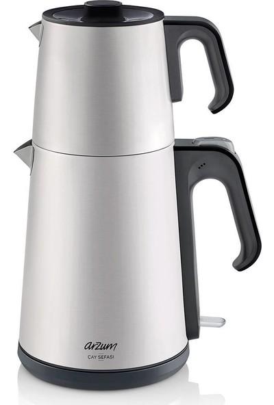 Arzum AR3069 Inox Çay Makinesi