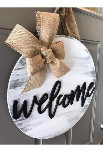 Enissimo Welcome Kapı Süsü Hoşgeldin Çelengi