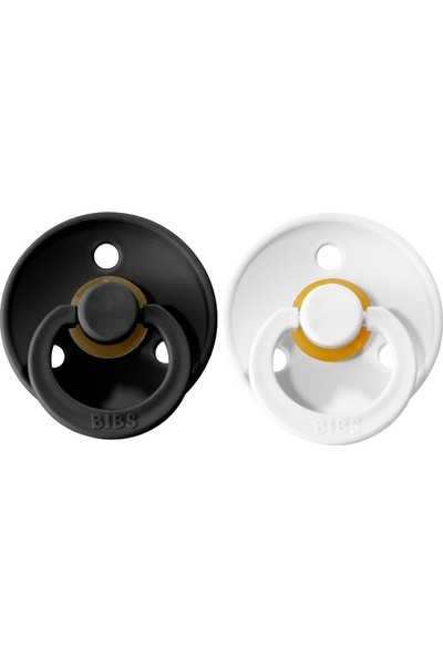 Bibs Colour İkili Emzik - Black-white