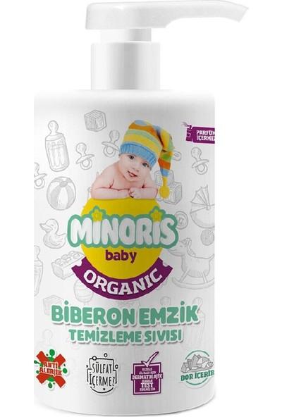 Minoris Baby Organik Biberon Emzik Temizleyici 500 ml 3'lü Set