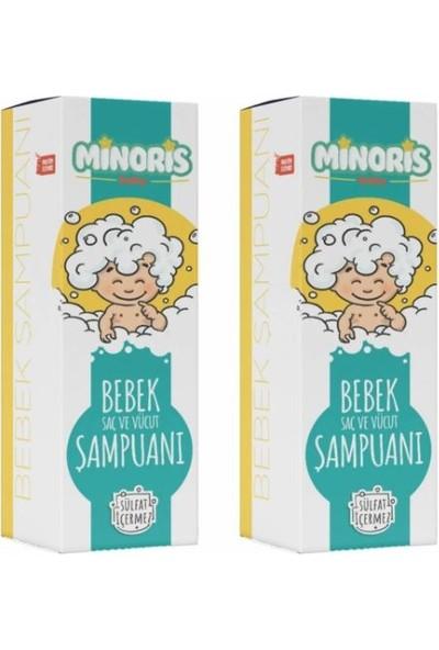 Minoris Baby Saç ve Vücut Şampuanı 400 ml - 2'li Set