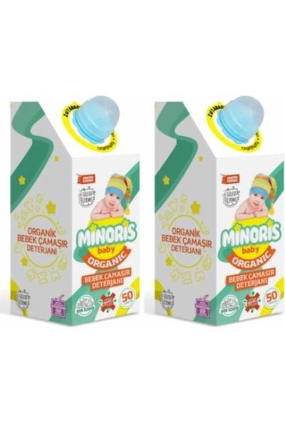 Minoris Baby Organik Bebek Çamaşır Deterjanı 2'li Set