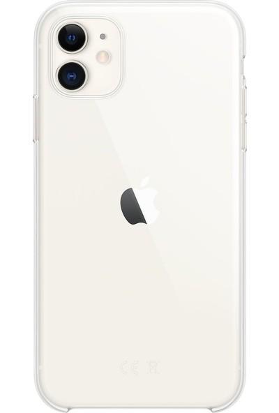 Mopal Apple iPhone 11 Silikon Kılıf - Şeffaf