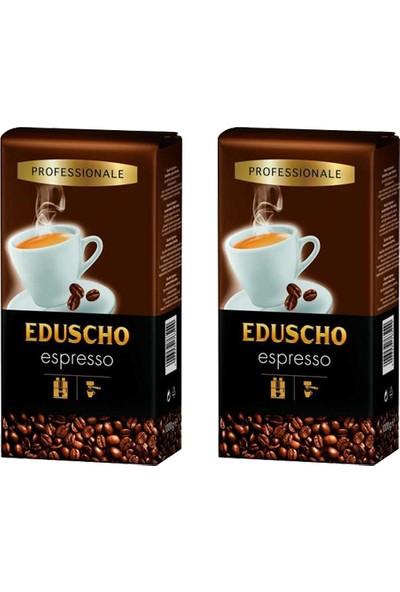 Eduscho Profesional Espresso Çekirdek Kahve 1 kg x 2 Adet