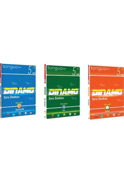 Tonguç Akademi 5. Sınıf Matematik Fen Türkçe Dinamo Soru Bankası Seti 3 Kitap