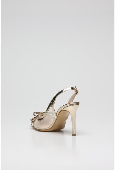 Rovigo Plus Altın Kadın Stiletto