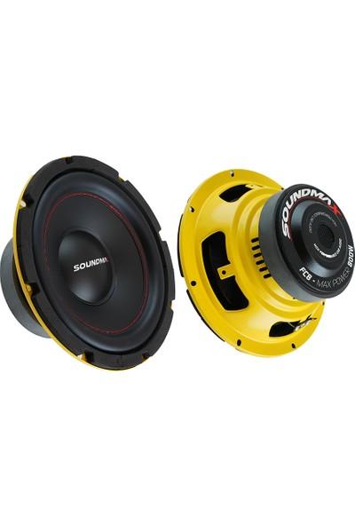 Soundmax Oto Bass Subwoofer 20 cm 800W 1 Adet Soundmax Sx-Fc8