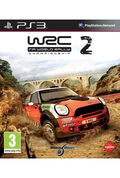 WRC 2 FIA World Rally Championship PS3 Oyun