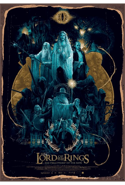 Marple's Lord Of The Rings Poster