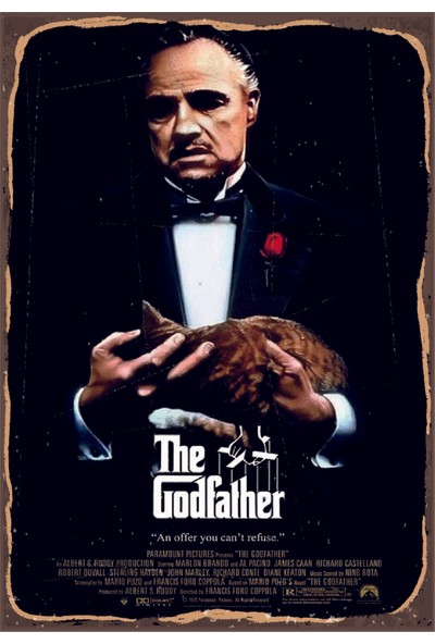 Marple's Godfather Poster 2