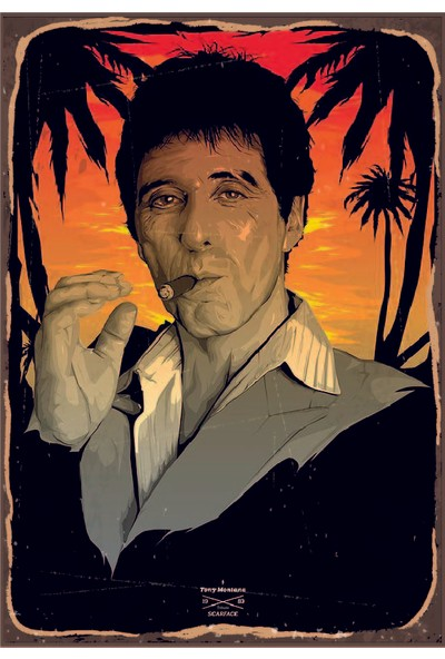 Marple's Scarface Poster