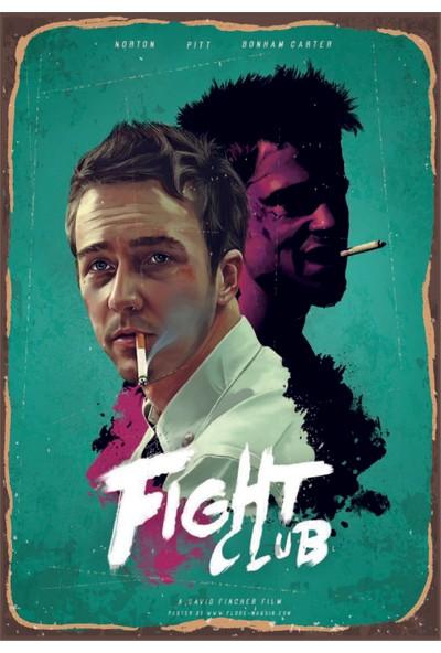 Marple's Fight Club Poster