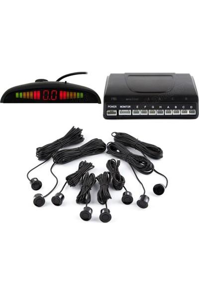 Onetick Dijital Ekranlı 8'li Araç Park Sensörü Ses İkazlı P800