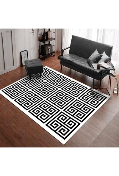 Homessa Etnik Desenli 80 x 200 Modern Halı