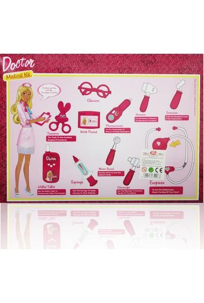 Toys e Toys Işıklı ve Sesli 11 Parça Doktor Seti