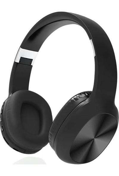Studz KD48 Bluetooth 5.0 Fm Radyo TF Kart Destekli Kulaklık Siyah