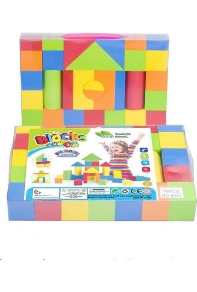 Engin Oyuncak Eğitici Eva Blok 3D Puzzle Çantalı 30 Parça