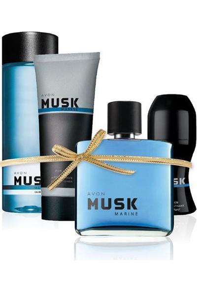 Oriflame Avon Musk Marine Erkek Parfüm Seti