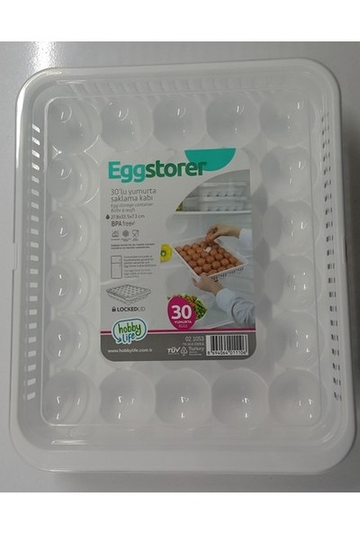 Hobby Life 30'lu Yumurta Saklama Kabı
