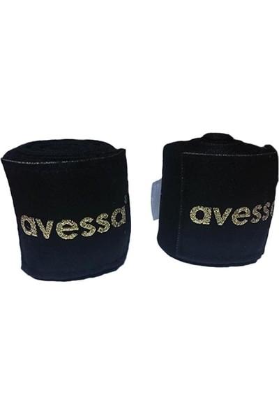 Avessa Boks Bandajı 3,5 M Siyah Bks-Bnj-S
