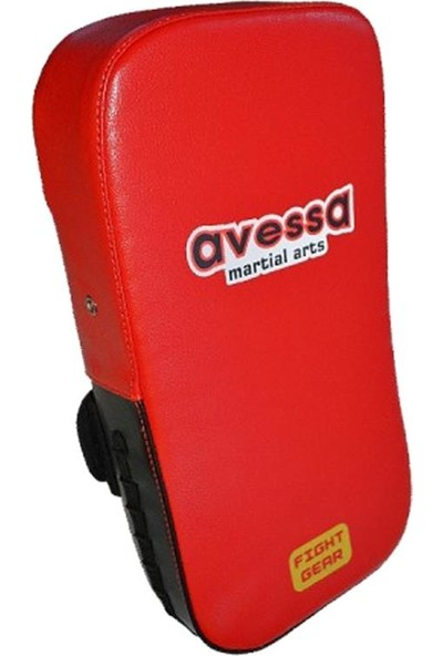 Avessa Klasik Eğri Darbe Yastığı Kırmızı (TP-40K)
