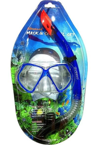 Avessa Şnorkel Set Mavi (M4206PM)